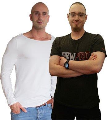 Erik Kunz und Tobias Kohlhuber
