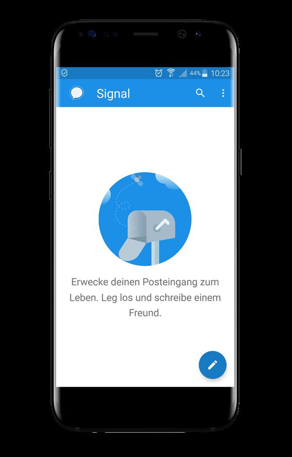 Signal Messenger Postfach