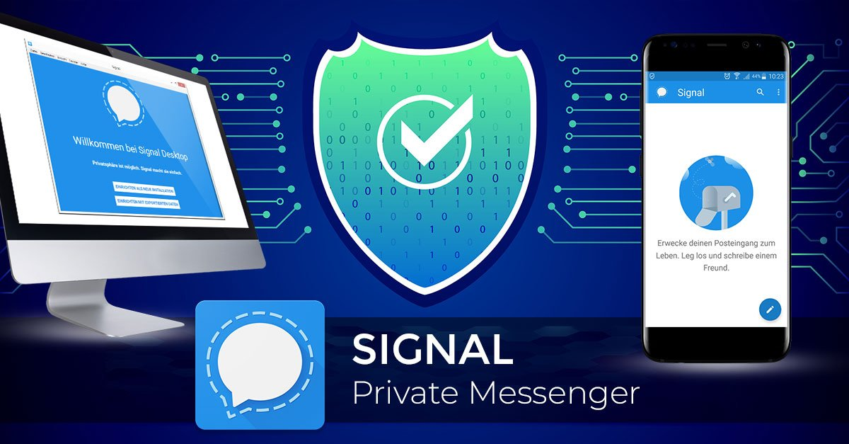 Signal Messenger - HowTo Anleitung