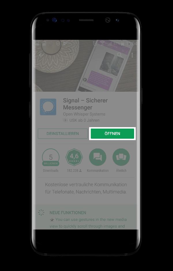 Signal Messenger Öffnen